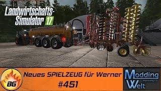 LS17 - Hof Bergmann Reloaded #451   Neues SPIELZEUG für Werner   Let's Play [HD]
