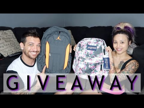 Back To School GIVEAWAY!!