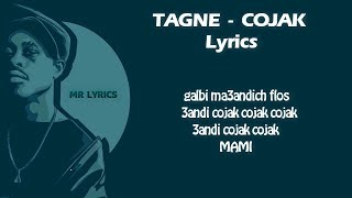 TAGNE - COJAK ( Lyrics HD ) (طاني كوجاك (كلمات