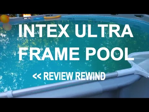 intex ultra frame pool review rewind