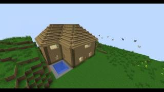 [Minecraft] Cozzy house part-1- Small Mansion