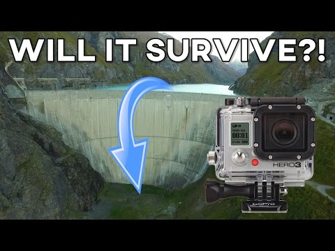 CRAZY 200m GOPRO DROP TEST! How Ridiculous