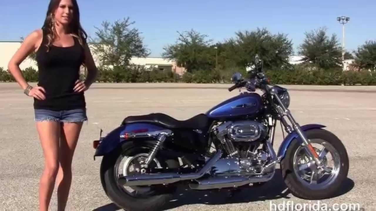 Harley Sportster For Sale >> New 2015 Harley Davidson XL1200C Sportster 1200 Custom Motorcycles for sale - YouTube