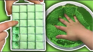 THE MOST SATISFYING CRUNCHY ICEBERG SLIME VIDEO EVER!