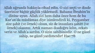 """Kuran'da """"İbrahim'in hanif dini"""" ayetleri"""
