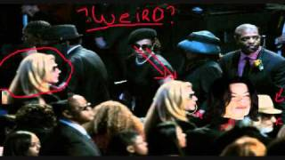 Michael Jackson at his own Funeral!