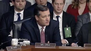 Sen. Cruz's Opening Statement at Judge Gorsuch's Confirmation Hearing - March 20, 2017