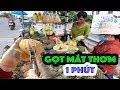 Dao Gọt Mắt Thơm Nhanh Như điện | Chuyện Vợ Chồng Bán Thơm Trên đường Phố Sài Gòn