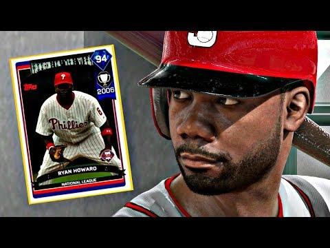 DIAMOND RYAN HOWARD IS INSANE!! MLB THE SHOW 17 DIAMOND DYNASTY