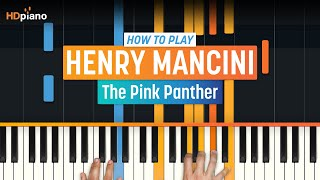 "How To Play ""The Pink Panther"" by Henry Mancini 