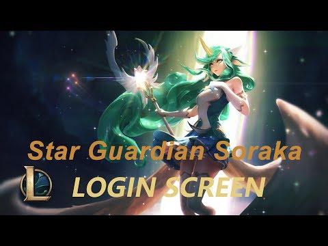 star guardian soraka-login screen