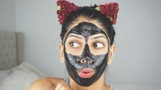 The Most Painful Charcoal Peel Off Face Mask!
