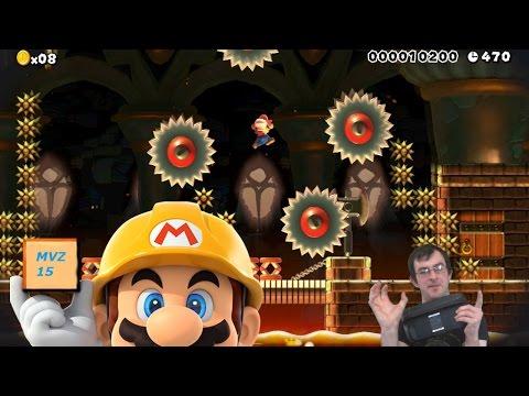 Work With Me Mario - Super Mario Maker - Mario Vs Z 15