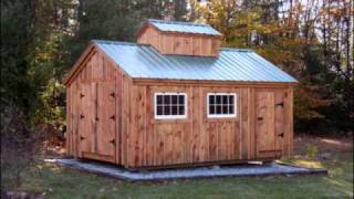 Post And Beam Shed Kits - Jamaica Cottage Shop, Inc.