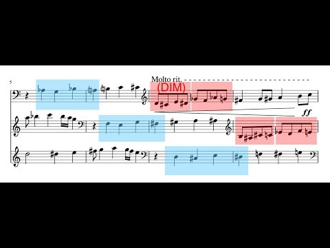 333rd Birthday Canon on B-A-C-H Motif (3-voice modulating canon at the minor 3rd)
