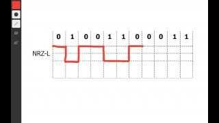 NRZ-L Encoding in 1 minute