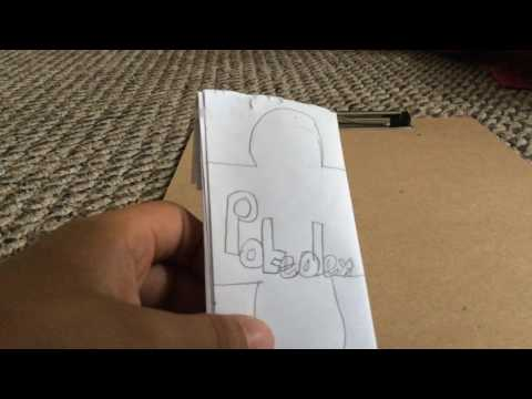 How to make a paper pokedex (Part 3)