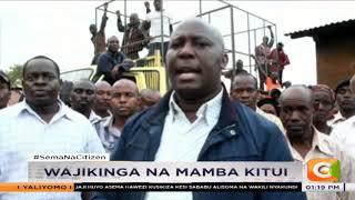 Wakaazi wa Kathini kaunti ya Kitui wajikinga na mamba