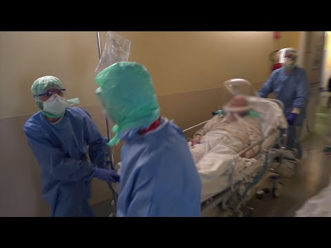 Italy hospital overwhelmed