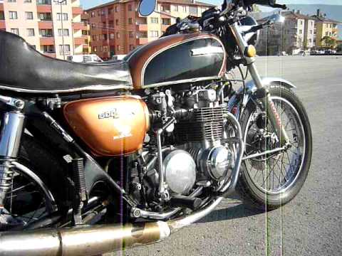 honda cb 500 four 1973 awesome engine youtube. Black Bedroom Furniture Sets. Home Design Ideas