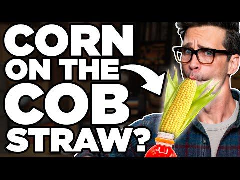 Crazy Straw Sucking Challenge
