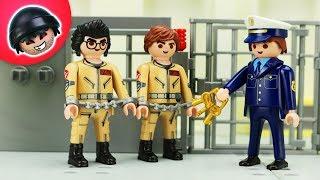 Die Ghostbuster werden verhaftet!  -  Playmobil Polizei Film - KARLCHEN KNACK #220