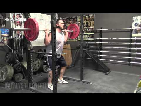 Pin Back Squat - Olympic Weightlifting Exercise Library - Catalyst Athletics