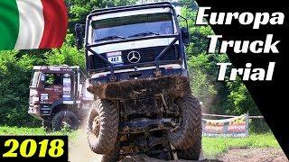 Truck Trial Oleggio 2018, Italy - European Championship/Meisterschaft- 8x8 Mercedes, 6x6 Man & More!