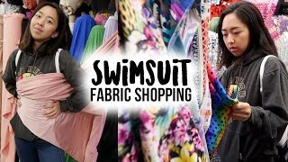 Come Shopping For Swimsuit Fabric With Me! | LA Fashion District