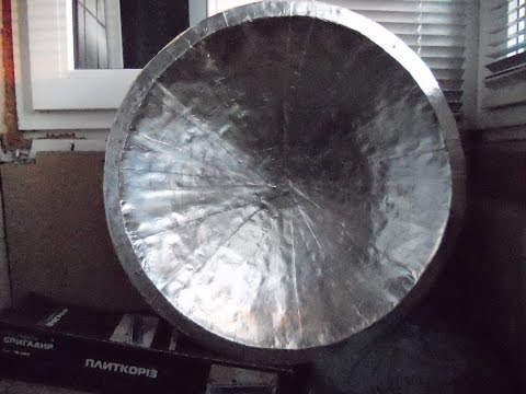 Как сделать спутниковую антенну своими руками в домашних условиях видео