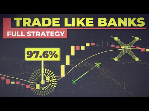 How To Trade Like Banks Using Accumulation & Distribution | WYCKOFF Trading Course For Beginners