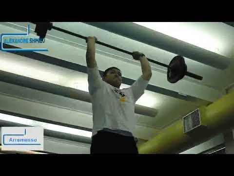 Levantamento de peso olimpico