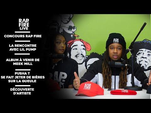 La rencontre avec Lil Pump, le prochain album de Meek Mill, découverte d'artiste ... #LiveRapFire