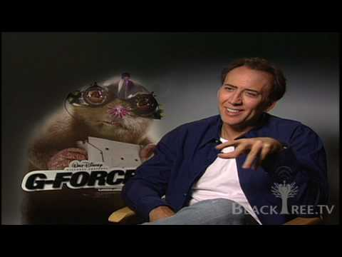 Nicolas Cage Voice Goes Undercover In G Force Youtube