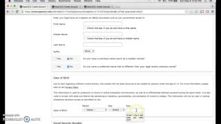 How to Create an Account for the MiraCosta College Online Enrollment Form