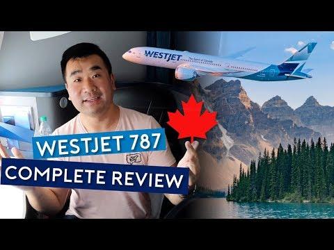 The Complete WestJet 787 Dreamliner Review