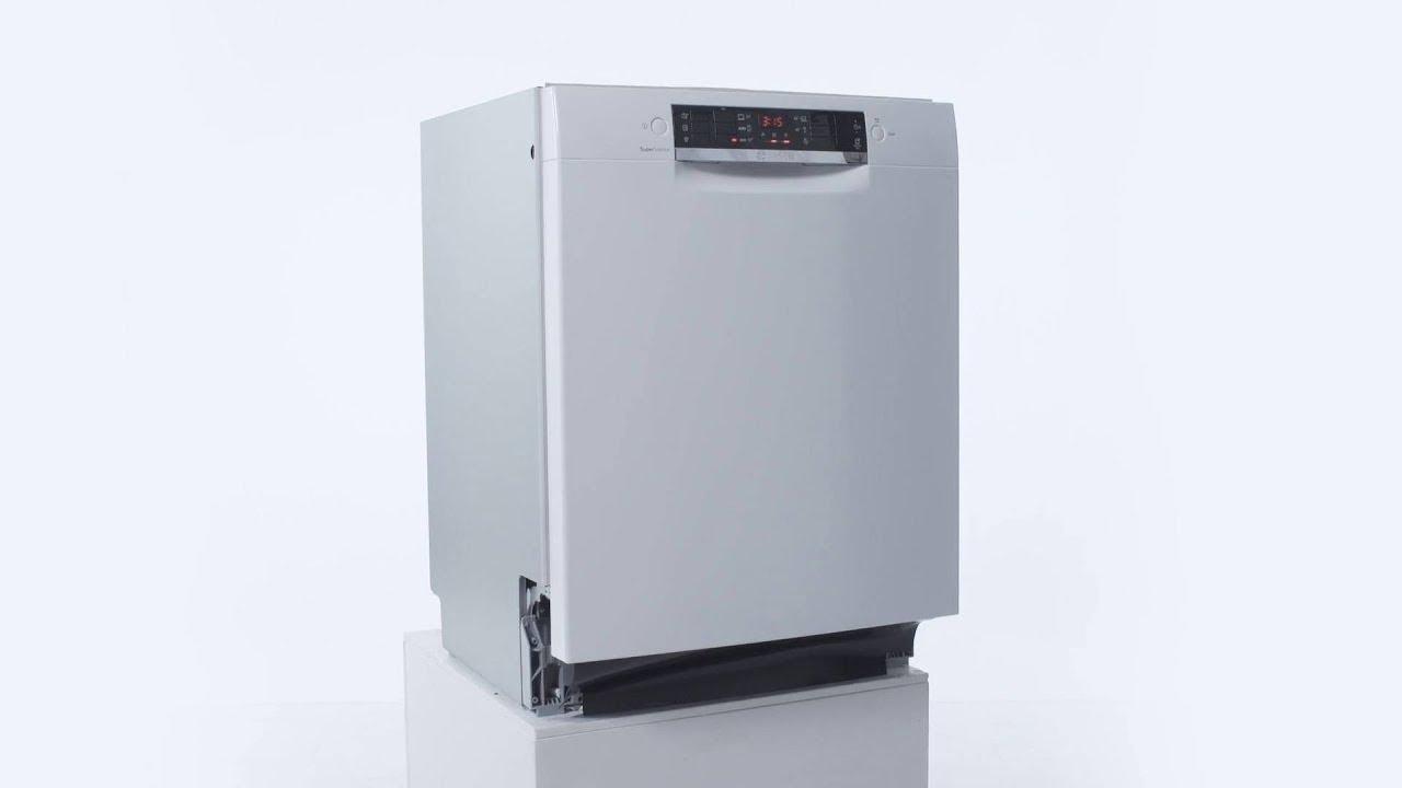 Bosch SMU46CW02S 'bedst i test' opvaskemaskine - YouTube