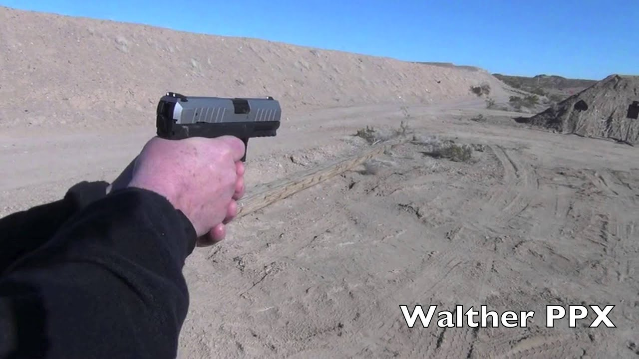 SHOT Show 2013: Walther Arms' new PPK, PPX and PPQ