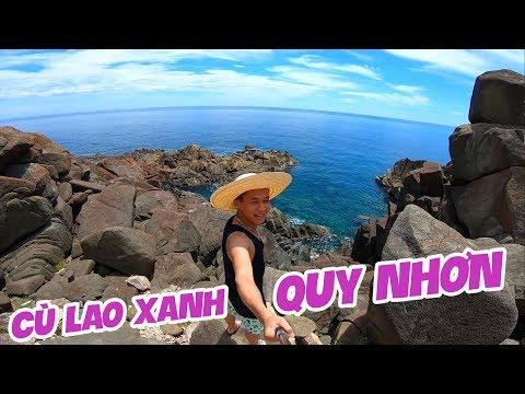 Cùng Streamer Tùng Sói ngắm đá ở đảo Cù Lao Xanh - Quy nhơn.