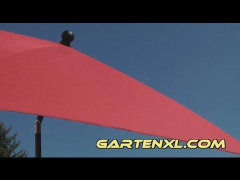 Sonnenschirm Rechteck Sonnenschirm Von Gardenline Bei Aldi Sud