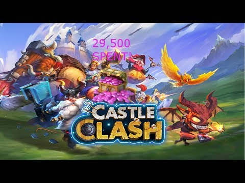 ROLLING FOR CREATION-01 | 29,500 GEMS SPENT! | CASTLE CLASH