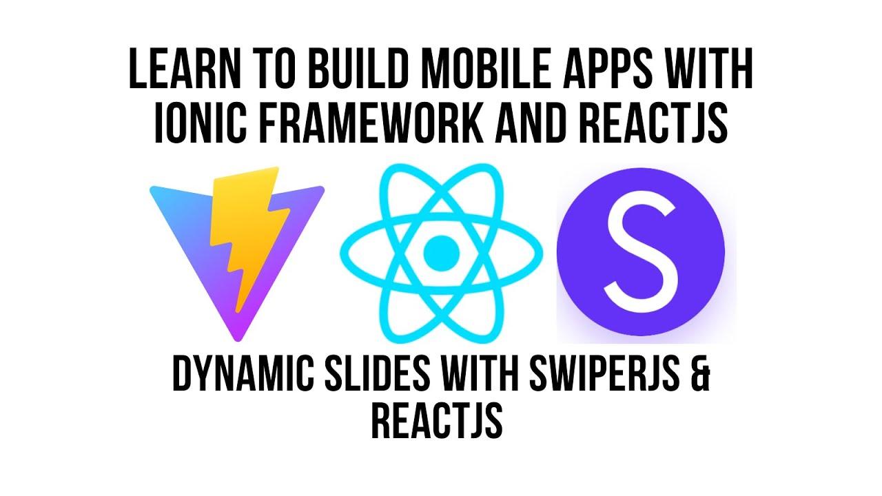 ReactJS Dynamic Slides Using SwiperJS