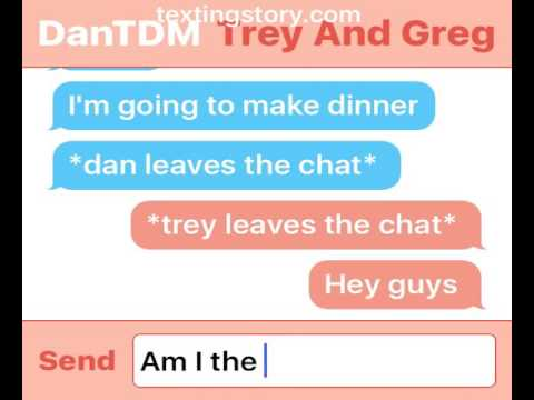 Dan, trey, Greg chat