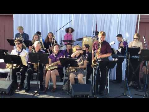 Sir Francis Drake High School Jazz Band-Imagination Park Benefit, August 24, 2013