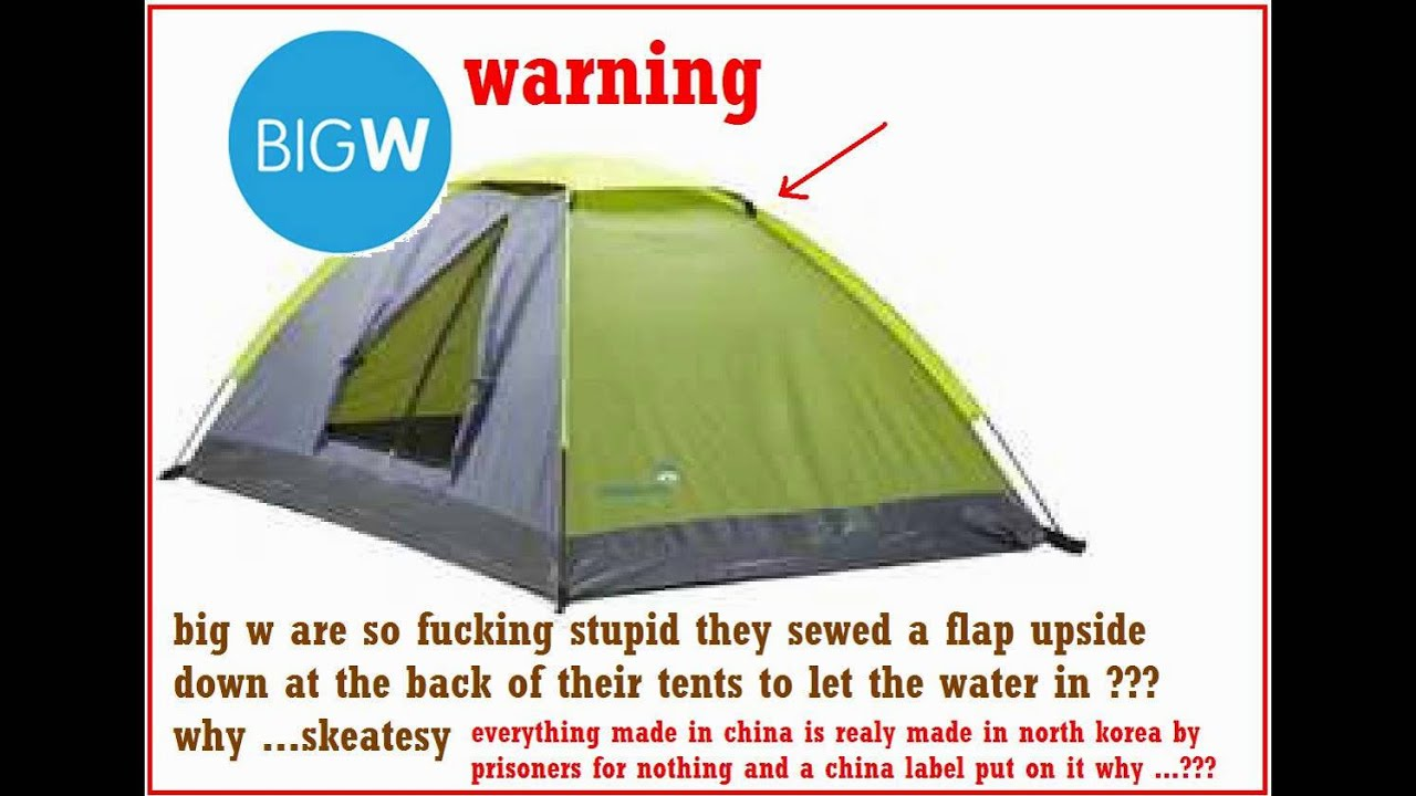tents made by big w north korea china failures skeatesy  sc 1 st  YouTube & tents made by big w north korea china failures skeatesy - YouTube
