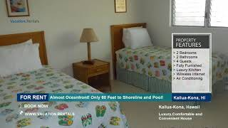 Hawaii | Vacation Rentals | Almost Oceanfront! - 4 Guests | Kailua-Kona