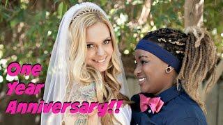 Lesbian Wedding Ceremony | BerrySwirl
