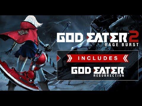 【 Kou Bs 】God Eater 2: Rage Burst/噬神者2爆裂   可惡我想要中文版QAQ  !!       # DAY1