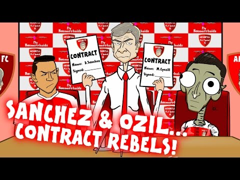 OZIL & SANCHEZ - contract REBELS! Will Wenger trick them into signing a new deal?