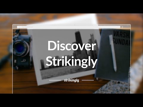 Discover Strikingly